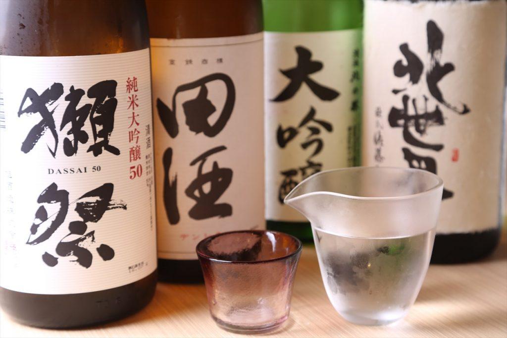 えりすぐりの日本酒