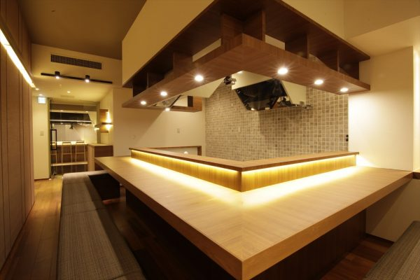 ジョイフル酒肴小路 新装企画店舗 301号室 − 店内カウンター
